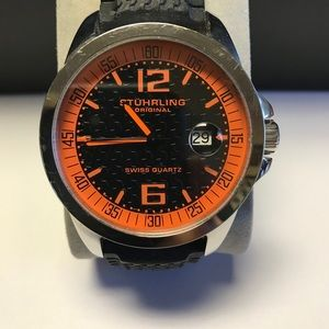 STUHRLING Men's Watch, EUC, new battery required